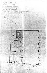 chambre des m騁iers tours plan du rez de chaussée jacques boille arch 14 octobre 1950
