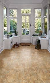Laminate Flooring Stone Tile Effect Romano Stone Camaro Luxury Vinyl Tile Flooring In An Assorted
