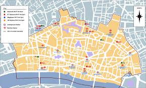 instagram walking route around city of london