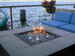 Propane Fire Pits With Glass Rocks by Convert Outdoor Tables Into Fire Tables Propane Or Natural Gas