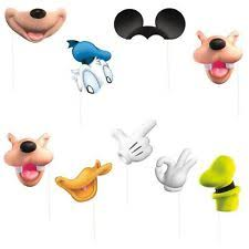 mickey mouse photo booth props paper mickey mouse party decorations ebay