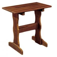 outdoor furniture side table amish patio side tables pinecraft com amish outdoor end tables