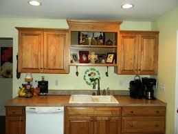 teapots above kitchen cabinets kitchen shelves instead of