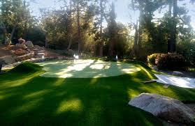 Diy Backyard Putting Green by Backyard Artificial Putting Green Design Process Golf