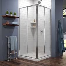 corner shower doors shower doors the home depot cornerview 36 in x 36 in x 74 75 in corner framed