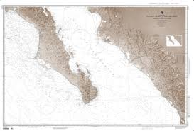 Map Of Cabo San Lucas Mexico by Cabo San Lazaro To Cabo San Lucas Nautical Chart 21014 By