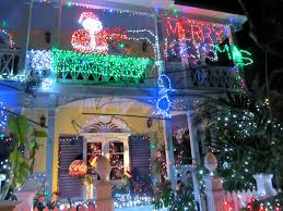 Christmas Lights On House by Christmas Beachybrunette