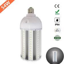 free shpping 54w led corn light bulb e39 e40 mogul base 6000