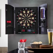 best dart board cabinet bullshooter by arachnid cricketmaxx 1 0 electronic dart board
