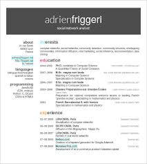 Resume Templates Spanish Download Resume Templates Latex Haadyaooverbayresort Com