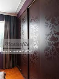 Decorative Sliding Closet Doors Decorative Sliding Closet Doors Stock Photo Masterfile