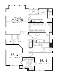 traditional style house plan 3 beds 2 50 baths 2392 sq ft plan