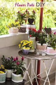 flower pots diy ewdinteriors