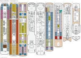 pacific aria deck plans diagrams pictures video