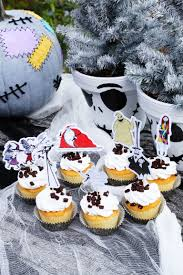 nightmare before christmas cupcake toppers nightmare before christmas cupcakes christmas cards