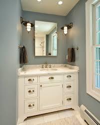 restoration hardware pivot mirror transitional bathroom olga