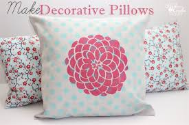 How To Make A Decorative - more fun with decorative pillows
