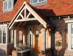 Exterior Doors Uk Wooden Front Doors External Solid Oak Glazed Exterior Front
