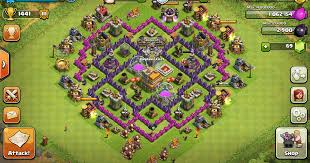 layout coc town hall level 7 clash of clans level 7 war base google search clash of clans