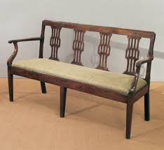 Antique French Settee Bench French Settee Bench Antique French Cherry Wood Settee