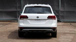 volkswagen atlas trunk seven seater volkswagen crossover will be called atlas