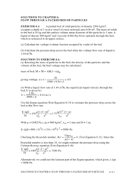 Coulson And Richardson Volume 6 Solution Manual Pdf Solutions Ch6 Filtration Number