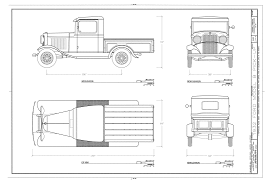 ford model b pick up 1932 blueprint download free blueprint for