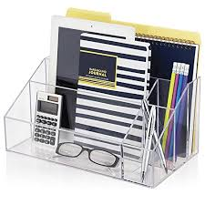 Paper Organizer For Desk Stori Clear Acrylic Craft Organizer Desk Office Stationery Holder