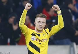 Marco Reus Hairstyle Paul Pogba And Marco Reus Will Go Head To Head Juventus Face