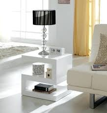 White Tables For Living Room Modern Side Tables For Living Room Djkrazy Club
