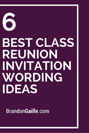 ideas for 50th class reunions class reunion invitation templates cloudinvitation