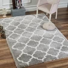 Area Rugs Gray Delphia Rugs Fluffy Shag Area Rugs Gray White Living Room Rug