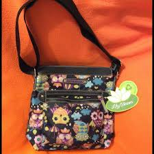 bloom purse 24 bloom handbags nwt bloom owl print cross