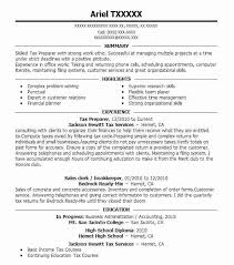 Computer Savvy Resume Best Tax Preparer Resume Example Livecareer