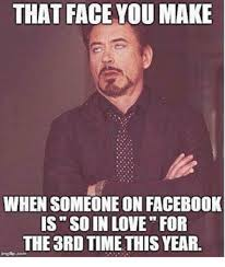 How To Make Facebook Memes - that face you make when someone on facebook is so in love for the
