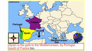 Western Europe Map by Western Europe Geography Song Youtube