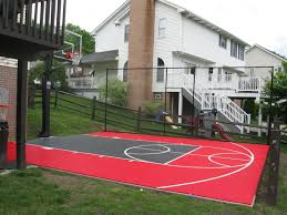 Sports Courts For Backyards Backyard Sport Court Outdoor Goods