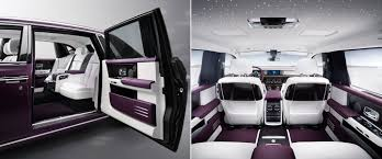 rolls royce white inside rolls royce unveils the 2018 phantom