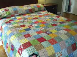 quiltpatchwork quilt california king size 118x103 classic