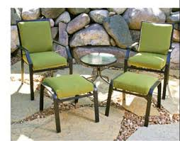patio furniture with ottomans outdoor chair pads ottoman cushion chair seat pads