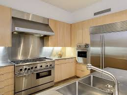 Range Hood Backsplash by Contemporary Kitchen With Limestone Tile Floors By Housely