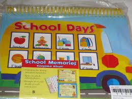 school days keepsake album buy school days school memories keepsake album 8 pockets for