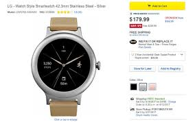 amazon black friday lg deal lg watch style on sale for just 179 99 28 off on amazon