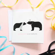 congratulations on your wedding congratulations on your wedding day card by alstead