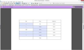 Count Calculation In Adobe Acrobat Forms Calculations In Expanding Tables In Adobe Livecycle Designer Es4