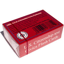 amazon com us citizenship test civics flash cards for the
