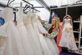 Wedding Shops Coronation Street U0027s Tina O U0027brien Shops For Wedding Dresses As She