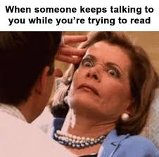 Reading Book Meme - book memes
