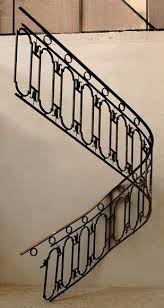 Iron Banisters Cast Iron Banister With Brass Hand Rail Stairs And Banisters