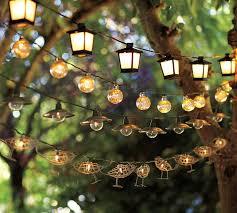 outdoor string lights malta mini lantern string lights pottery barn